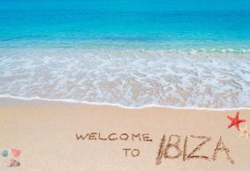 Vicki & Liz went to Ibiza for the weekend …