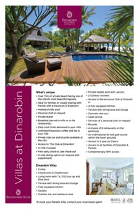 Mauritius Hotels with Private Villas