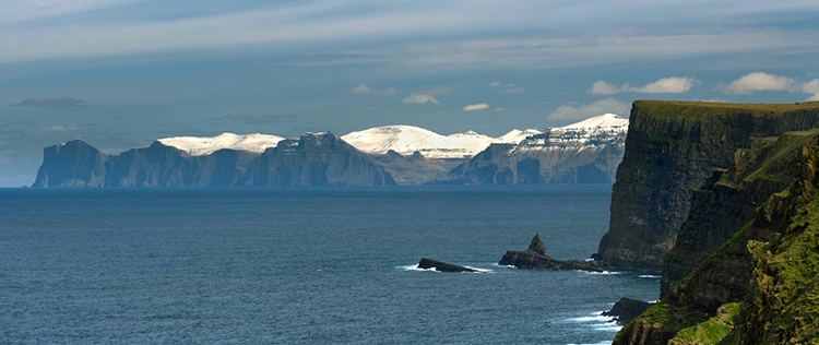 faroe islands by travel wallet in bridgnorth