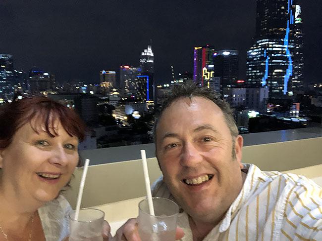 Penny & Ian in Ho Chi Minh